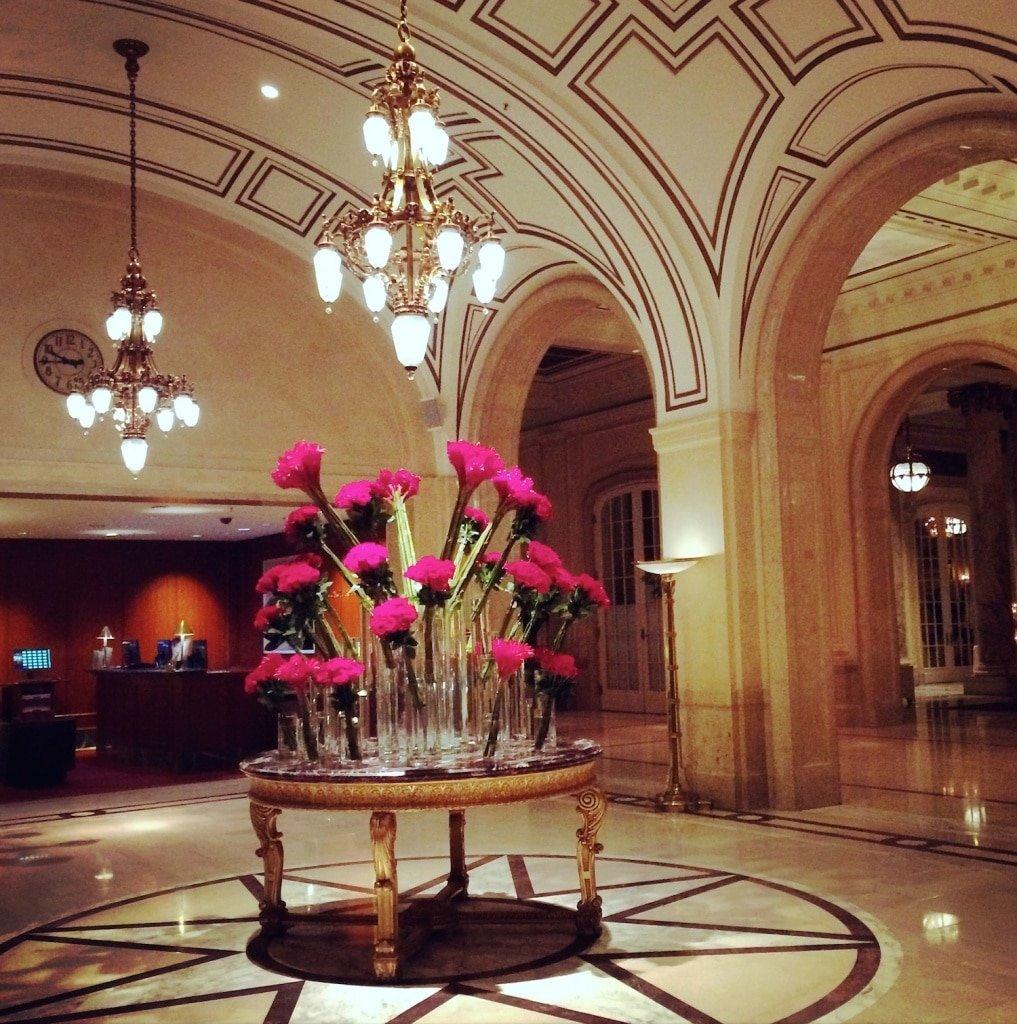 Palace Hotel, Garden Court - San Francisco, Ca
