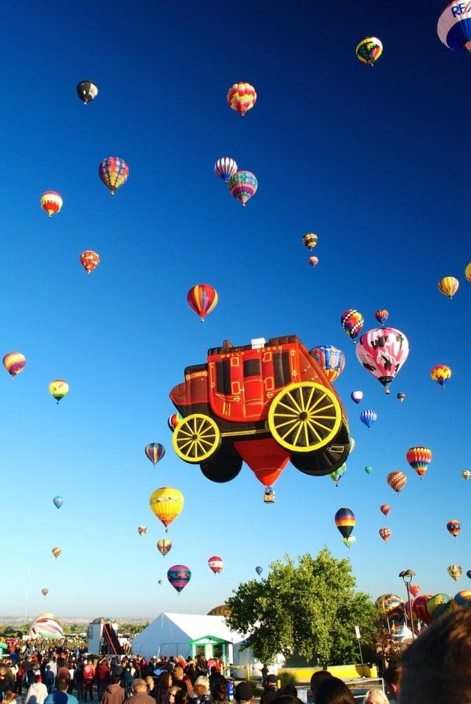 Albuquerque New Mexico Hot Air Balloon Festival