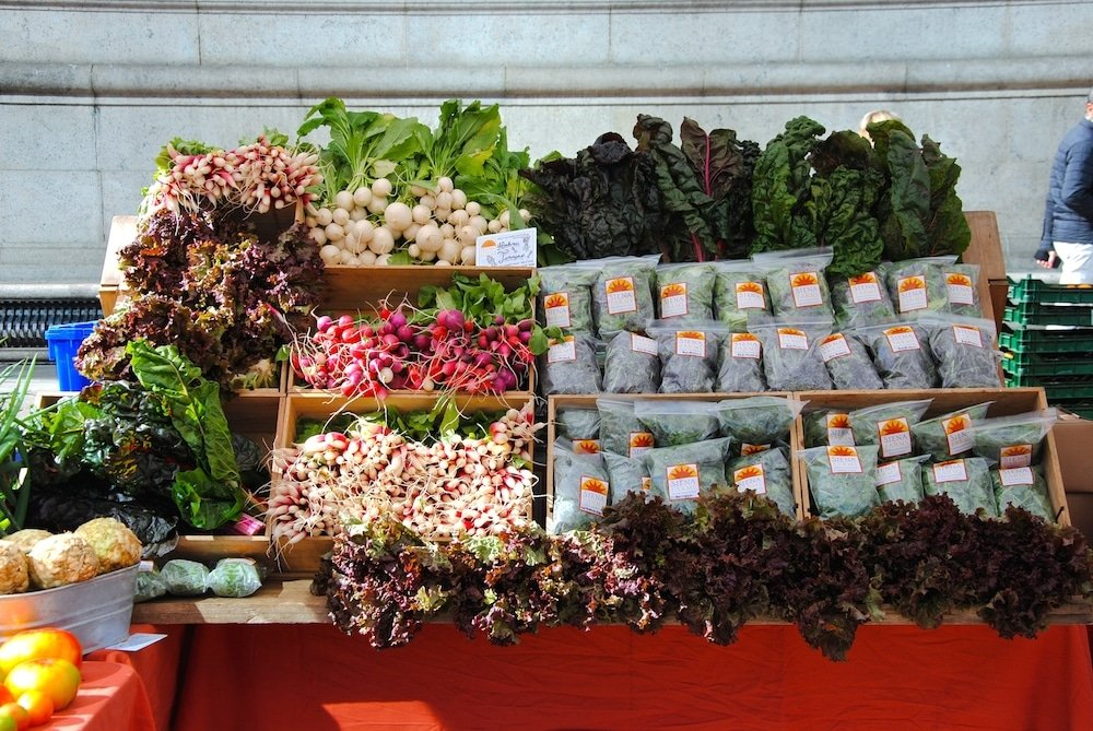 Copley Square Farmers Market, Boston, MA