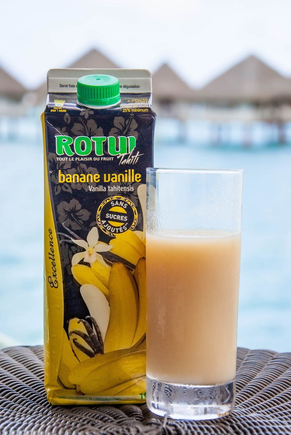 Banana Juice in Bora Bora