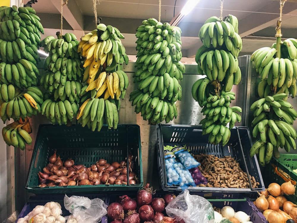 Best Bites in Bora Bora - Hanging Bananas