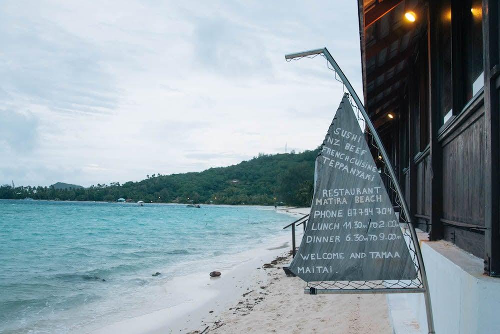 Best Bites in Bora Bora - La Matira Beach