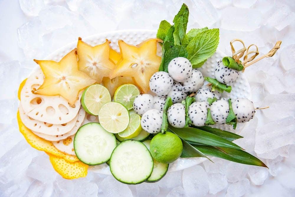4 Island-Inspired Edible Cocktail Garnish Ideas