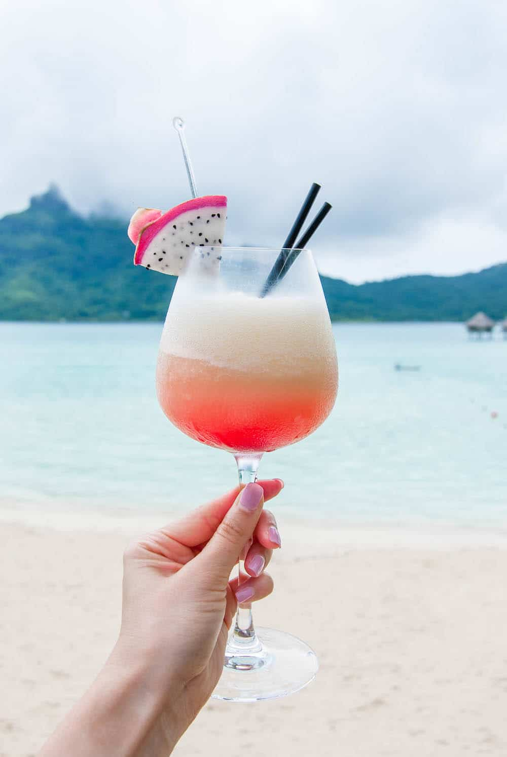 Island-Inspired Edible Cocktail Garnishes