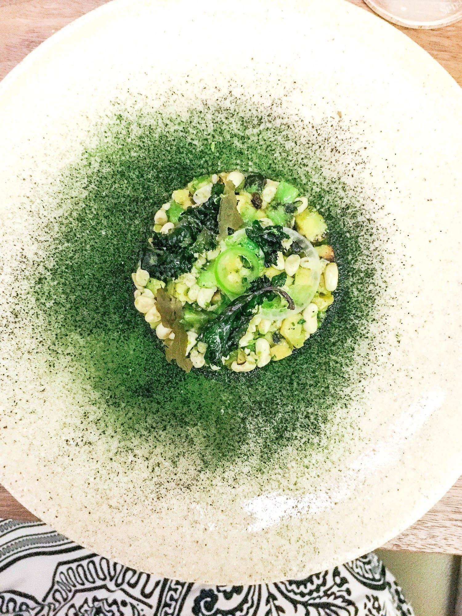 Mexican Caviar at Quintonil, Mexico City