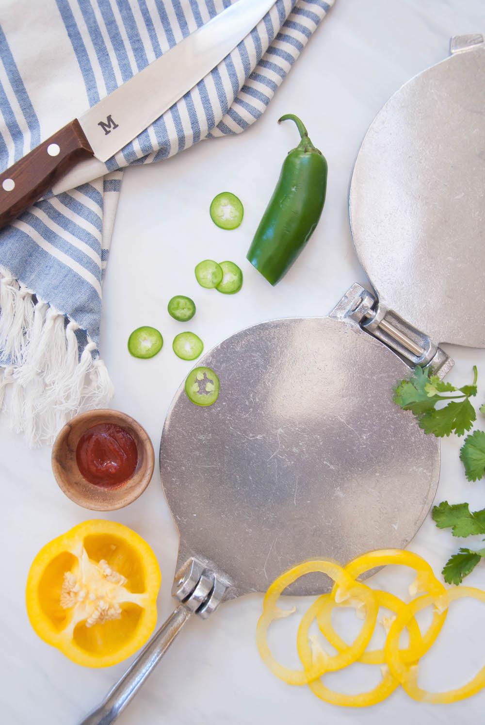 Flavor Pressed & Patterned Homemade Tortillas
