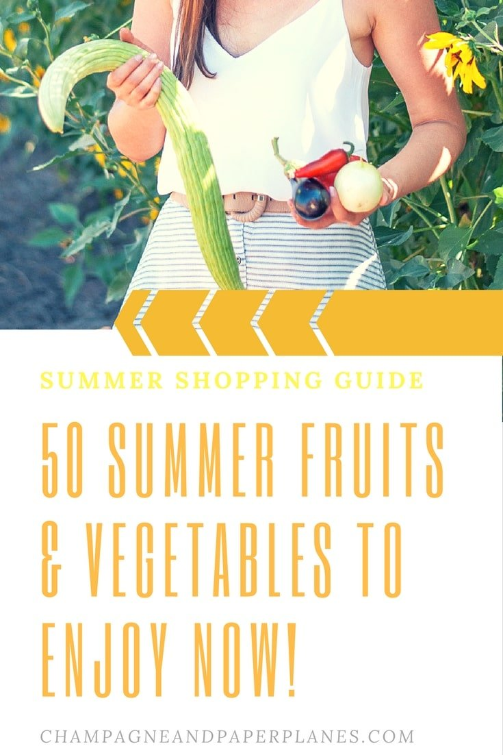 Free Printable Summer Produce Guide