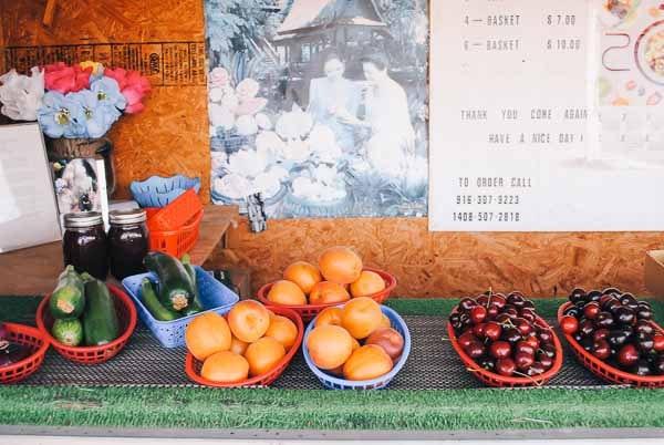 Adorable Strawberry Stand in Sacramento, Ca