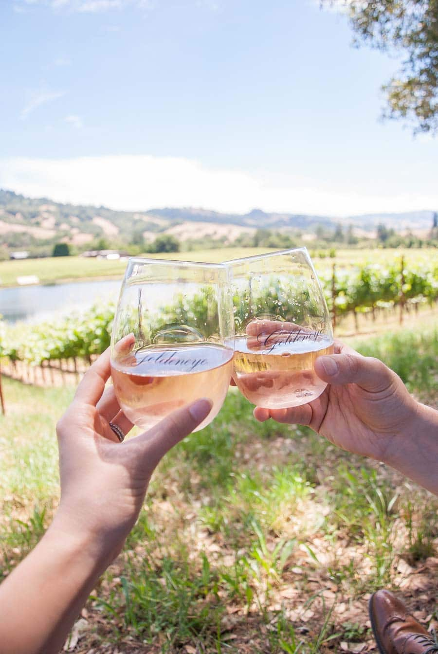 The perfect afternoon picnic in California Wine Country