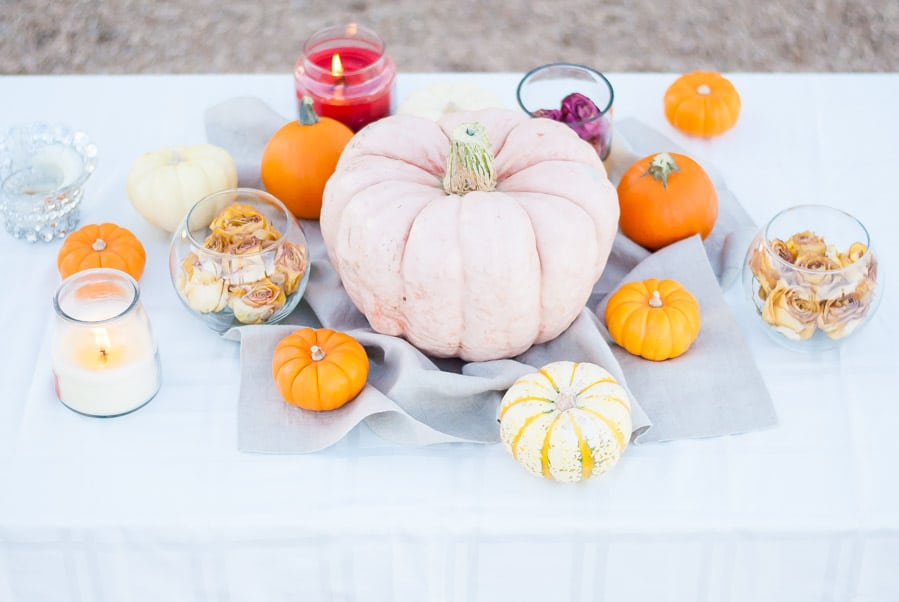 Fall Pumpkin Tablescape and Decoration Ideas