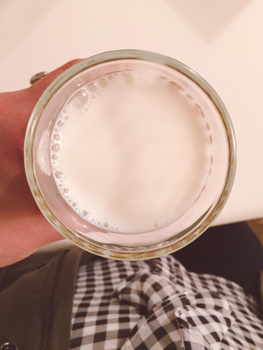 What a dietitian eats in a week - cup of milk
