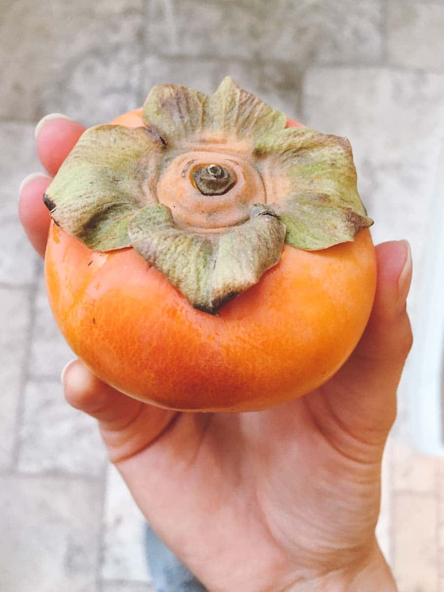 What a dietitian eats in a week - persimmon