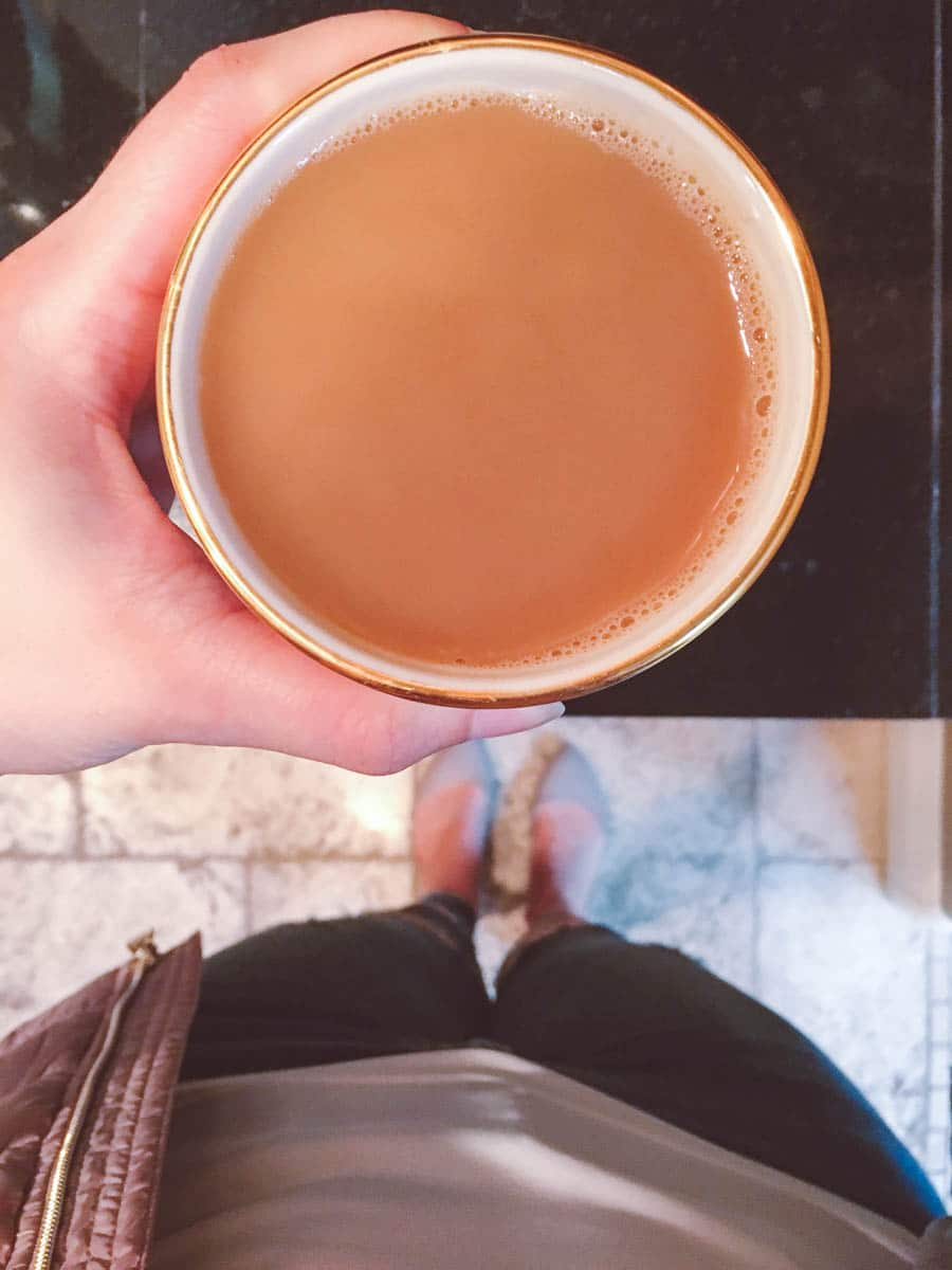 What a dietitian eats in a week - cup of coffee