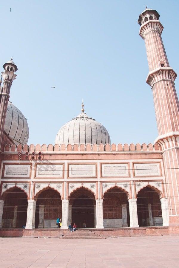 Delhi, India - Jama MasjidMosque