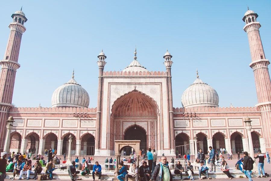 Jama MasjidMosque, Delhi, India