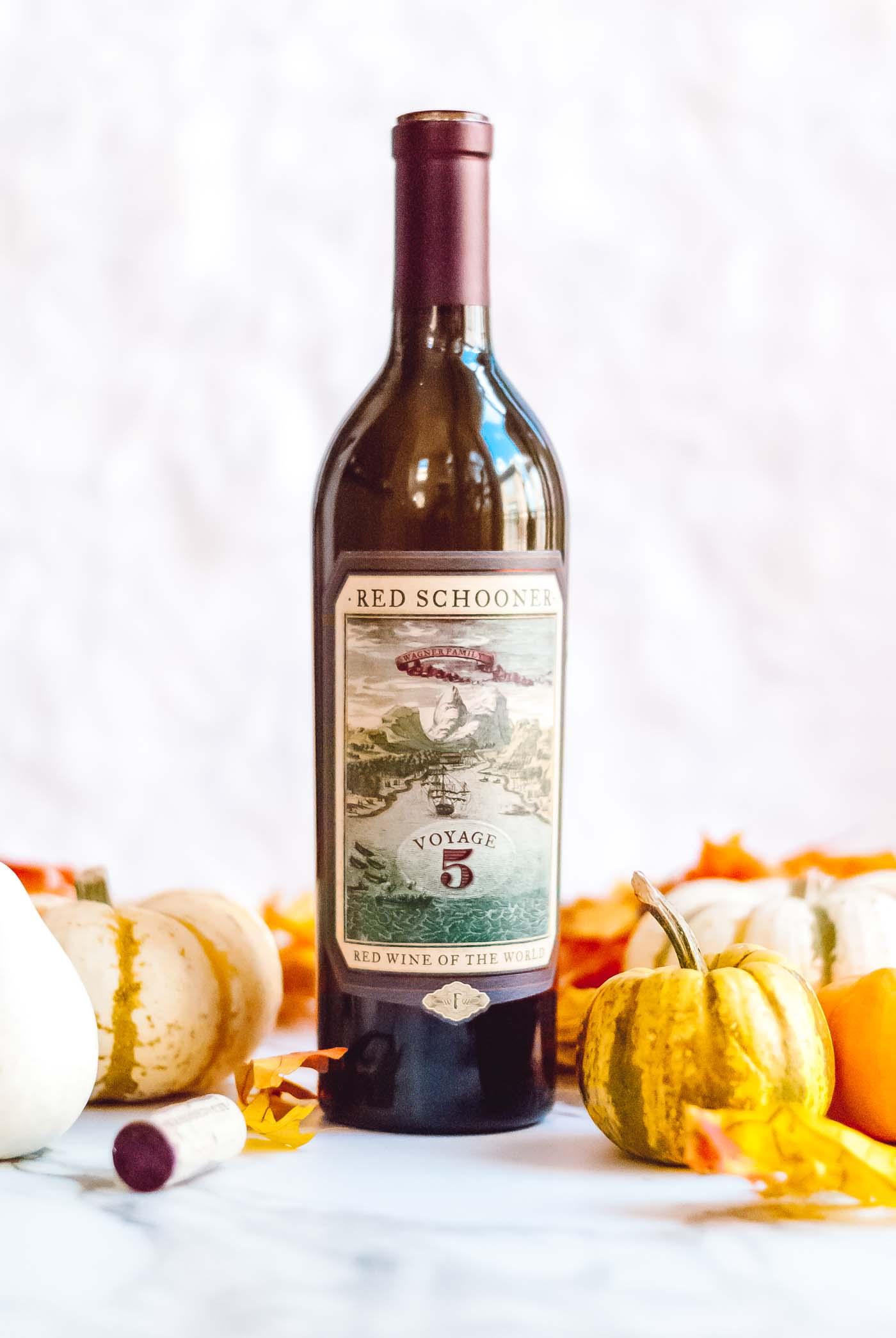 red schooner wine bottle